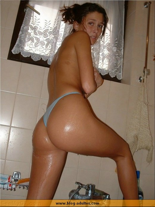 Photo sous la douche