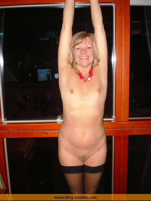 Belle mature blonde